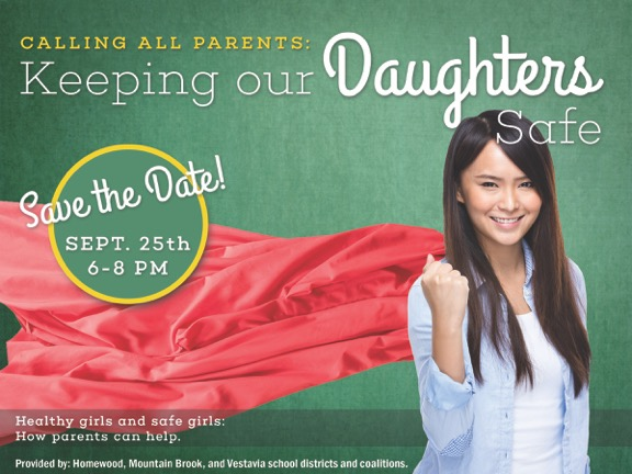 Keeping Our Daughters Safe Flyer